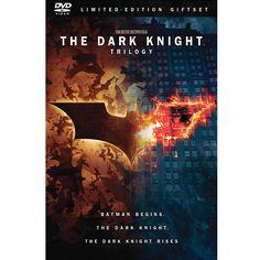 The Dark Knight Trilogy (Batman Begins / The Dark Knight / The Dark Knight Rises) (DVD)