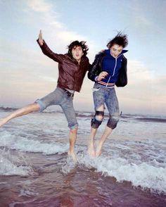 Carl & Pete of The Libertines. Le meilleur groupe des années 2000.