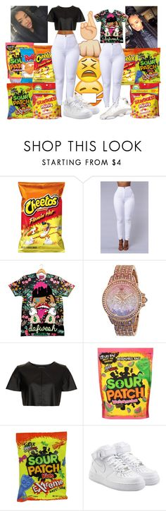 """""""RIDE OR DIE SISTERS"""" by leahlacklandqueenboss ❤ liked on Polyvore featuring Juicy Couture, Topshop and NIKE"""