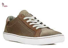 KICKERS REAL - Baskets basses / Baskets mode - Marron c - Femme - T. 37 - Chaussures kickers (*Partner-Link)