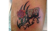 NASCAR Illustrated: One fan's Earnhardt ink   NASCAR.com Nascar Rules, Nascar Live, Nascar Illustrated, Fan Tattoo, Dale Earnhardt Jr, Tattoo Ideas, Racing, Ink, Popular