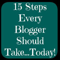 blog tips for new blogs.  Great tips that every blogger should apply.