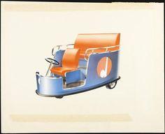 Electric Motor Vehicleca. 1938