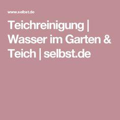 Teichreinigung | Wasser im Garten & Teich | selbst.de