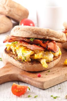 Be sure to fuel your day with one of these delicious breakfast sandwiches. Choose your favorite bread and your favorite breakfast foods and create a beautiful and tasty start to your day. #breakfastsandwich #eggsandwich #breakfast