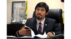 Manny Pacquiao first announced his intention of running for a seat in the Philippine House of Representatives on February Philippine Houses, Manny Pacquiao, Mma Boxing, Rich Man, Boxer, Fun Facts, Politics, In This Moment, News