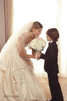 Ring bearer and bride. Keywords: #weddings #jevelweddingplanning Follow Us: www.jevelweddingplanning.com  www.facebook.com/jevelweddingplanning/
