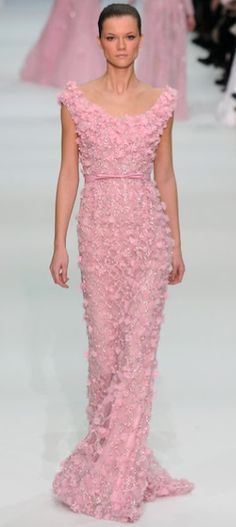 #Elie Saab Haute Couture S/S 2012  long dresse #2dayslook #new #longfashion  www.2dayslook.com