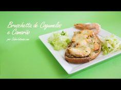 Receita de Bruschetta de Cogumelos e Camarão - YouTube