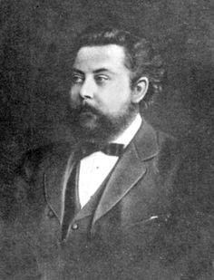 Modeste Petrovitch Moussorgski (1839-1881) en 1876