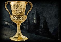 The Hufflepuff Cup  5 inches in height. Cannot be used as drinkware.