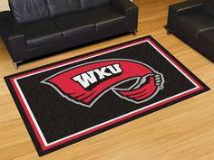 Western Kentucky University 5x8 Rug