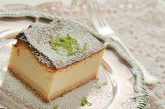 Sernik wiedeński Polish Recipes, Cheesecake, Cooking Recipes, Pudding, Treats, Food, Classic, Mascarpone, Sweet Like Candy