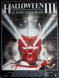 Here are some different foreign posters with GREAT TITLES. A lot of times foreign posters have completely different images than US posters and will have fantastic art work. CHECK THESE OUT!   HALLOWEEN 3: SEASON OF THE WITCH -1982- Orig 47x63 French Grande MOVIE POSTER