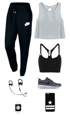 """Untitled #2988"" by twerkinonmaz ❤ liked on Polyvore featuring adidas, NIKE and Givenchy"
