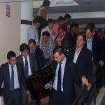 El vicegobernador despidió en la legislatura a Carlos Rosales