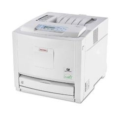 Ricoh Aficio CL3500N Color Laser Printer (White) Review