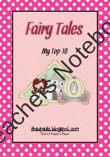 Fairy Tales - My Top 10 product from Paulas-Place on TeachersNotebook.com