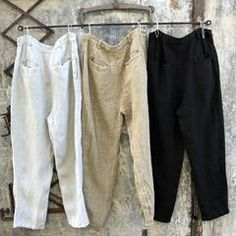 Henri Heavy Linen Pants