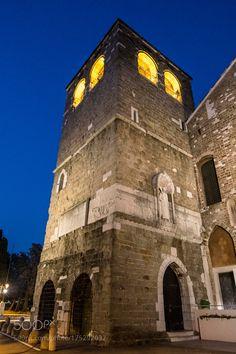San Giusto Bell Tower by xylittina. @go4fotos