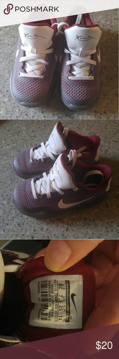 Toddler Nike shoes My son were these twice then grew out of them, super cute gym shoes. Nike Shoes Sneakers