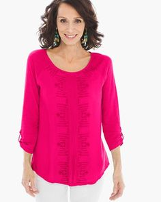 Emmie Embroidered Top