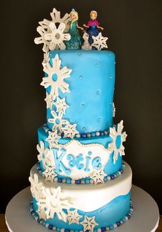 Frozen Tiered Cake