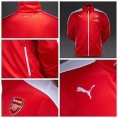 Puma Arsenal FC T7 Anthem Jacket with Sponsor - High Risk Red-White قیمت:  تومان حراج  کد محصول:  استعلام موجودی و ثبت سفارش با کد محصول در تلگرام