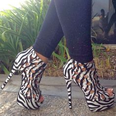 Interesting and Stylish High Heel Shoes