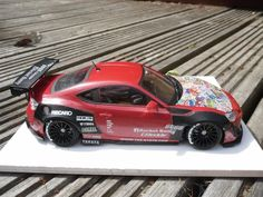 Aoshima Toyota 86 Greddy Rocket Bunny Enkai - Scale Auto Magazine - For building plastic & resin scale model cars, trucks, motorcycles, & dioramas