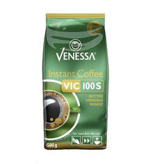 Venessa VIC 100S Instant Coffee ist ein gefriergetrockneter löslicher Premium Instantkaffee. Durch seine Rieselfähigkeit ist er ideal für Kaffeevollautomaten