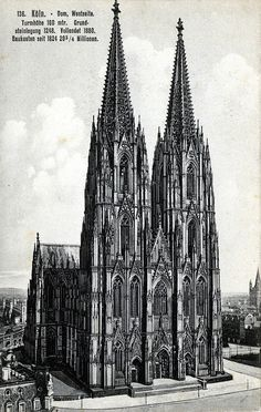 Dom (Cathedral), Westseite (West Side), Cologne, Germany- the most amazing site…