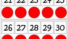 Getallenlijn 10-structuur - Juf Inger