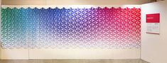 Chromaticity installation by Monocoque » Retail Design Blog