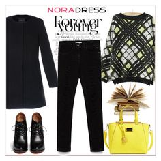 """""""Nora Dress 30"""" by amra-mak ❤ liked on Polyvore featuring мода, Zara, CXL by Christian Lacroix, Givenchy и noradress"""