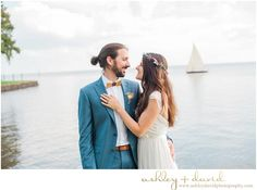 North Carolina Wedding Photographers // Nautical Wedding in Edenton, NC.