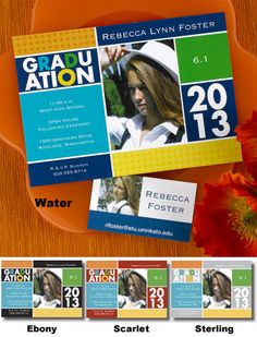 #Graduation #Cards and #Announcements from www.hyegraph.com
