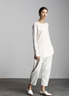 kowtow - 100% certified fair trade organic cotton clothing - Chaos Top