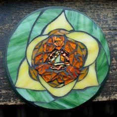 Tulip Mandala Mosaic by nutmegdesigns on Etsy