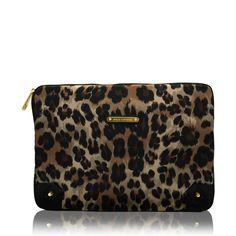 Juicy Couture Leopard Print Laptop Case #VonMaur