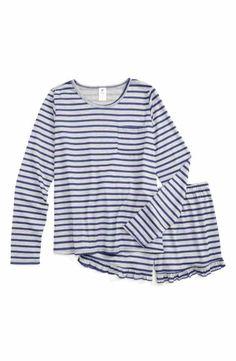 6d9e3263ac Tucker + Tate Stripe Two-Piece Pajamas (Big Girls) Striped Two Piece