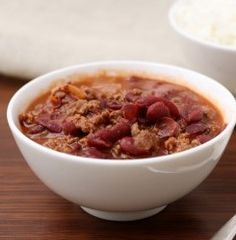 With this chili recipe, all the hard work is done ahead of time so that at the end of the day all you have to do is get out a bowl and get ready to eat!