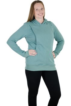 The Latched Mama Hoodie, for breastfeeding moms Not gonna lie, this sounds great