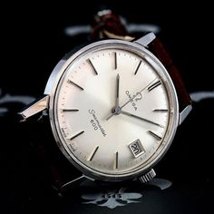 1966 Omega Swiss Seamaster 600 Ref. 136.011 Date Watch 17j Cal. 611 - SN23303008