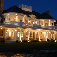 Beautiful white beach house