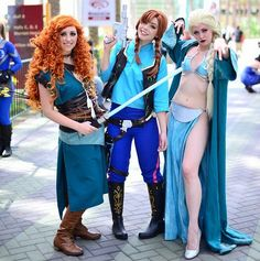 Pin for Later: 38 Epic Halloween Costume Mashup Ideas Frozen + Star Wars