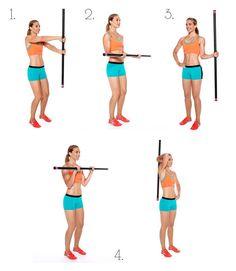 Bridal Fitness on Paper - Body Bar Exercises