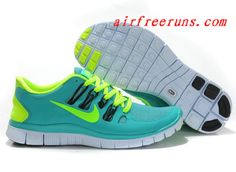 2013 Nike Free 5.0 V2 Apple Fluorescent Green Unisex #cheap #nike #shoes