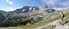 Unterwegs auf der Zugspitze Gatterl-Tour