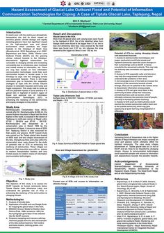 Tribhuvan University, Nepal: Using information and communication technologies to manage the risk of glacial lake flooding Information And Communications Technology, Income Streams, Environmental Science, Case Study, Climate Change, Nepal, Tourism, University, How To Plan